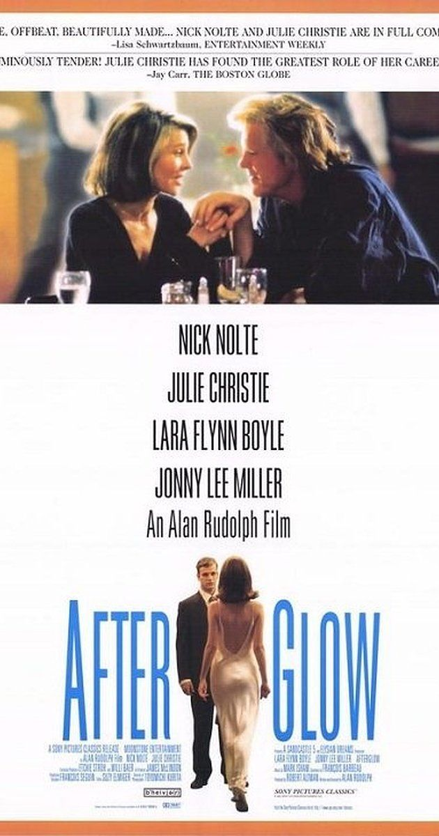 Directed by Alan Rudolph.  With Nick Nolte, Julie Christie, Lara Flynn Boyle, Jonny Lee Miller. A handyman with marital problems meets a housewife with the same.