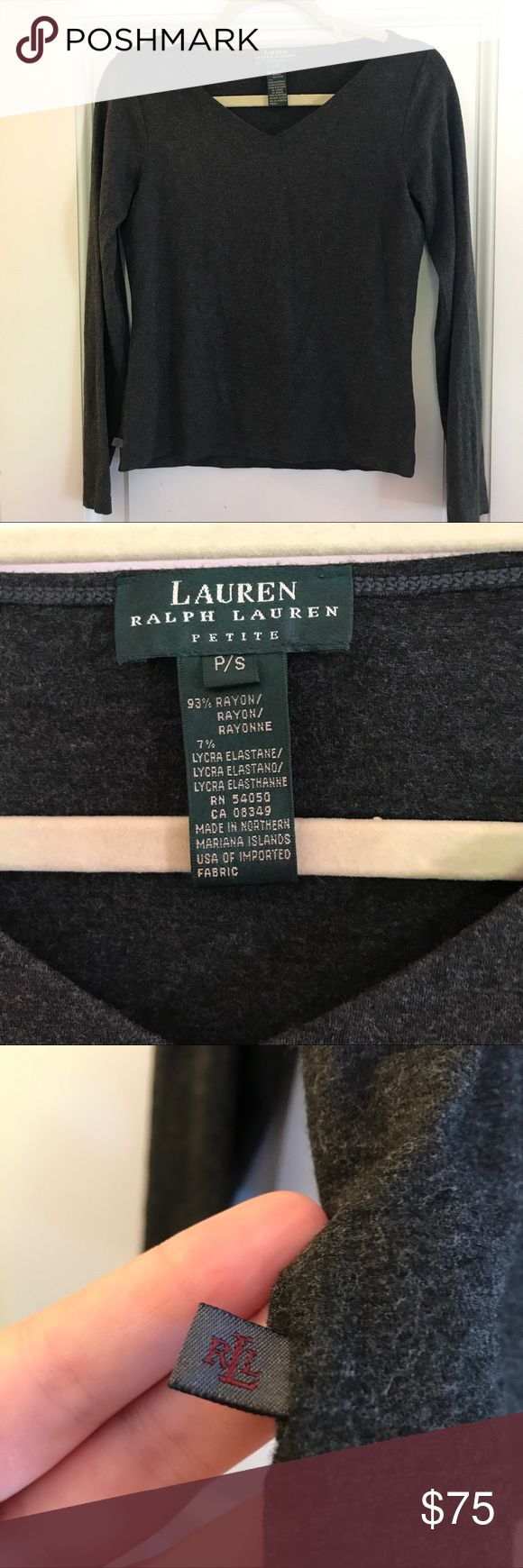 Lauren by Ralph Lauren Small Petite Sweater This item has been worn, but it has been taken care of amazingly. It is from the line Lauren by Ralph Lauren. Prices from this collection range from $300 and up. This sweater has no signs of wear, it is basically brand new. Size Small petite. Lauren Ralph Lauren Sweaters Crew & Scoop Necks