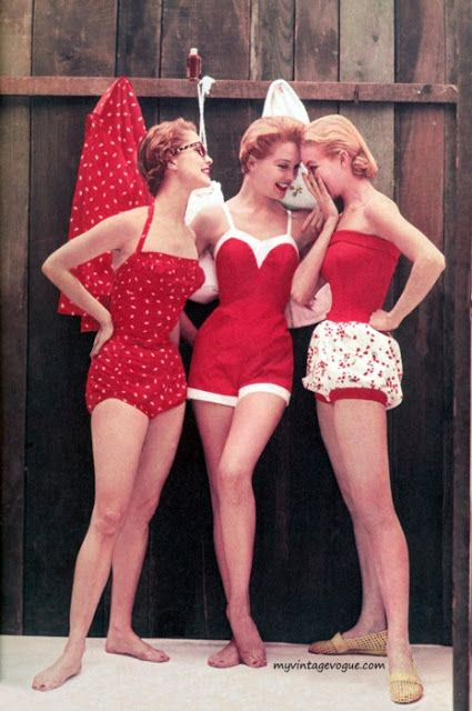 Vintage Style Bathing Suits......why did these go out of style<><>