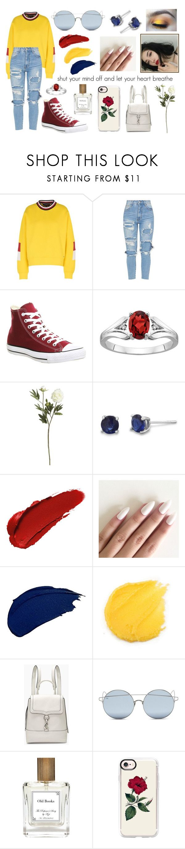 """""""primary"""" by jellymcfarland on Polyvore featuring Tommy Hilfiger, Converse, Crate and Barrel, LASplash, Rebecca Minkoff, For Art's Sake, The Perfumer's Story by Azzi and Casetify"""