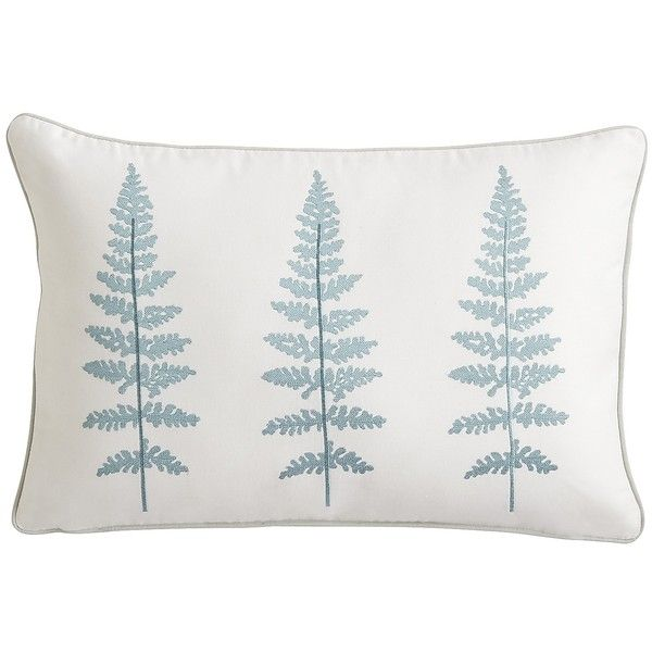 Pier One Decorative Throw Pillows : Pier 1 Imports Blue Butterfly Sketch Decorative Pillow ($24) liked on Polyvore featuring home ...