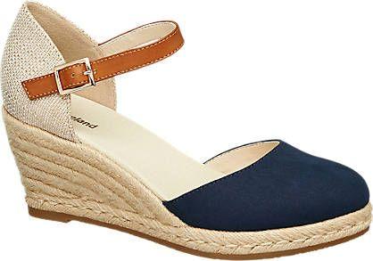 Keil Sandalette von Graceland in beige - deichmann.com