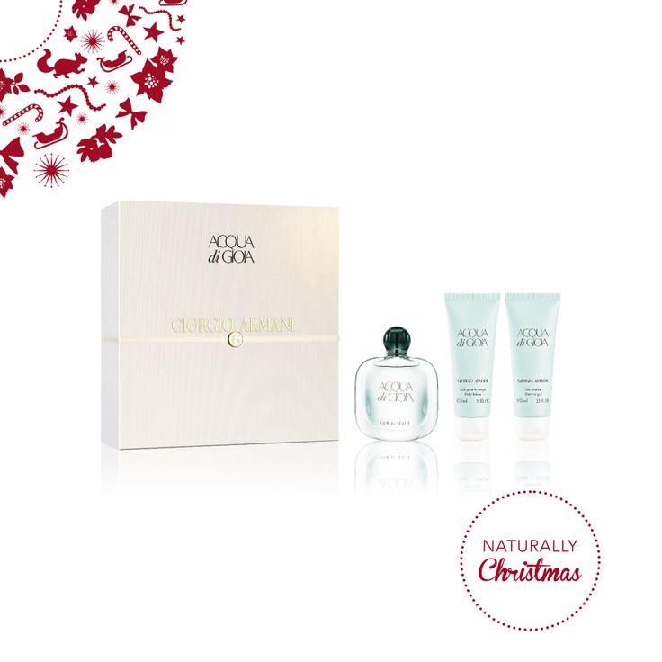 GIORGIO ARMANI - Acqua Di Gioia Eau de parfum (50ml)  Gel doccia (75ml)  Latte corpo (75ml) #NaturallyChristmas