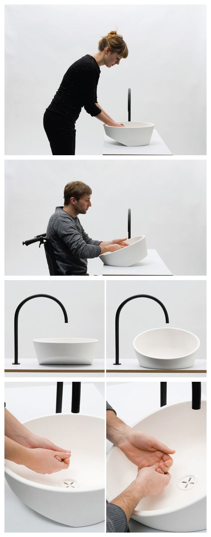 tilting sink by gwenolé gasnier                                                                                                                                                                                 More