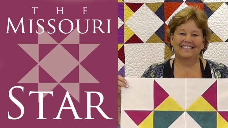 The Missouri Star Quilt Block: Easy Quilting Tutorial with Jenny Doan of...