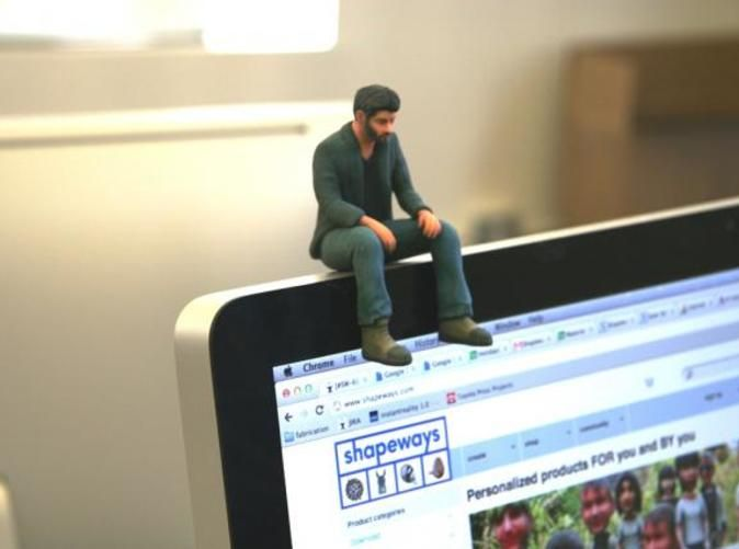Check out A Little Sad Keanu Reeves by neuralfirings on Shapeways and discover more 3D printed products in Figurines.