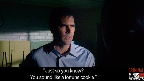 Hotch being funny in New Mexico talking to an Apache Indian. 2006