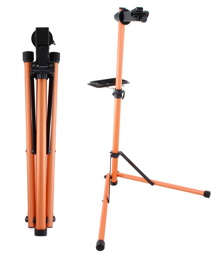 Portable Aluminum Mechanic Bike Repair Stand Bicycle Workstand