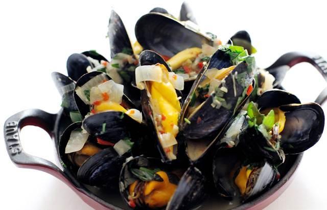 Paul Ainsworth's mussel broth