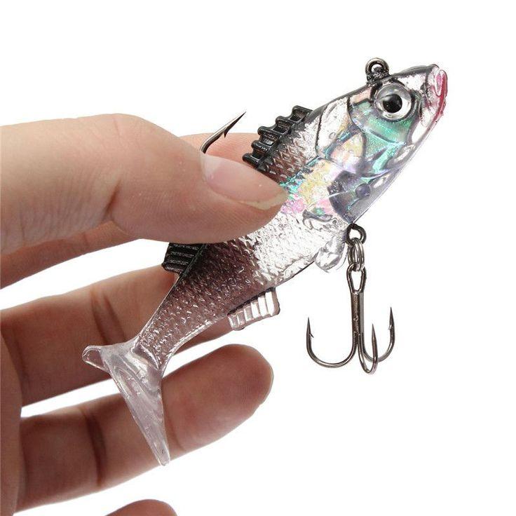 Paillette Fishing Lure Artificial Soft Crankbait