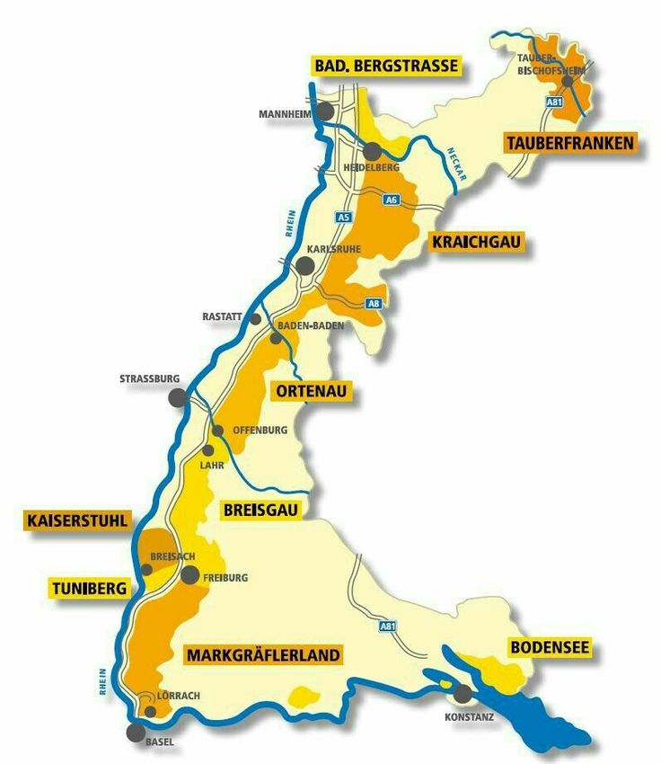Germany Map Konstanz