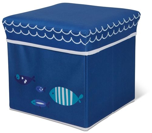 Woodlii Förvaringsbox Fisk
