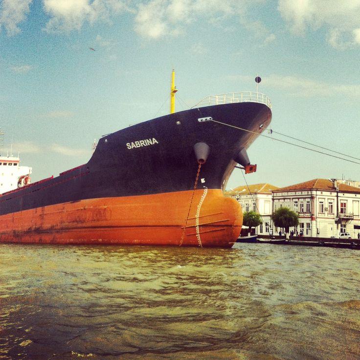 Port Sulina, Tulcea, on the Danube