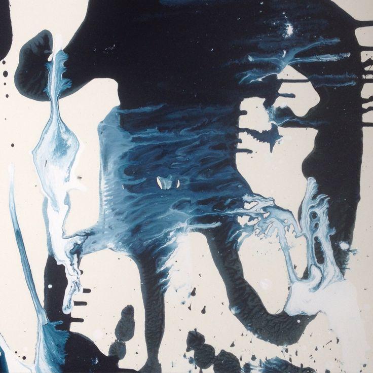 Prestudy for a larger paper work. 80x60 cm. Watercolor on paper.  #aharkes #art #paper #painting #artist #annemetteharkes