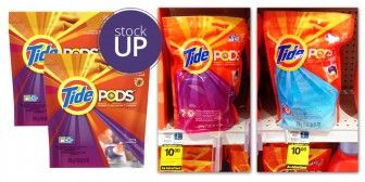 New $2.00 Tide Coupon! Pods 35-Pack, Only $3.00 at Rite Aid!