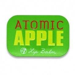 W7 Fruity Lip Balm, Atomic Apple