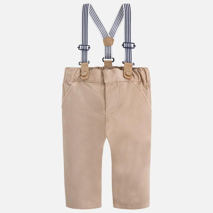 Long Pants With Suspenders