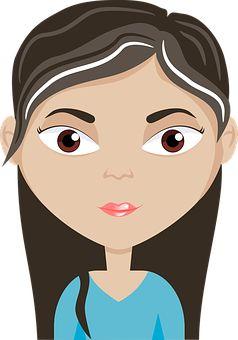 Avatar, Cartoon, Eyes, Female