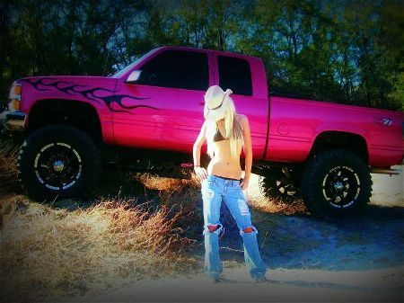 PINK Chevy Z71 :) | Stone Cold Country | Pinterest | Chevy ...