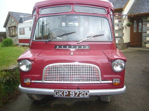 Bedford CA Dormobile  1966 with Touring Caravan For Sale