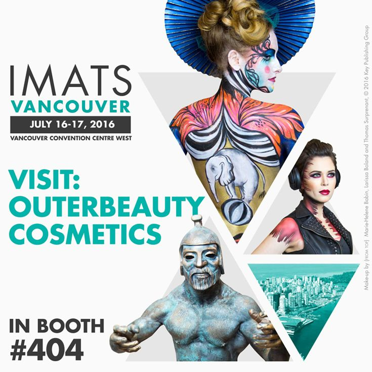 Come visit us at #imats Vancouver on July 16-17th, 2016. Who's excited? We will be exhibiting at booth 404. Hope to see all you lovely ladies there! #makeupsale #promua #mua #promakeupartist #bbloggers #beautybloggers #beautyvlogger #youtubemeetup #blogger #makeupchat #makeuptalk #makeupjunkie #makeup #beauty #imats #imats2016 #imatsvancouver #imatsvancouver2016 #imatsvan #outerbeautycosmetics #outerbeautyinc