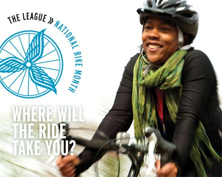 May is National #BikeMonth, sponsored by the League of American Bicyclists and celebrated in communities from coast to coast. Established in 1956, National Bike Month is a chance to showcase the many benefits of bicycling — and encourage more folks to giving biking a try.