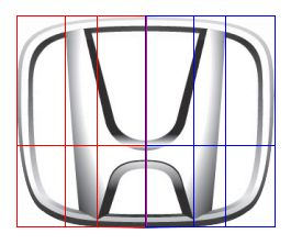 Golden ratio in Honda logo design