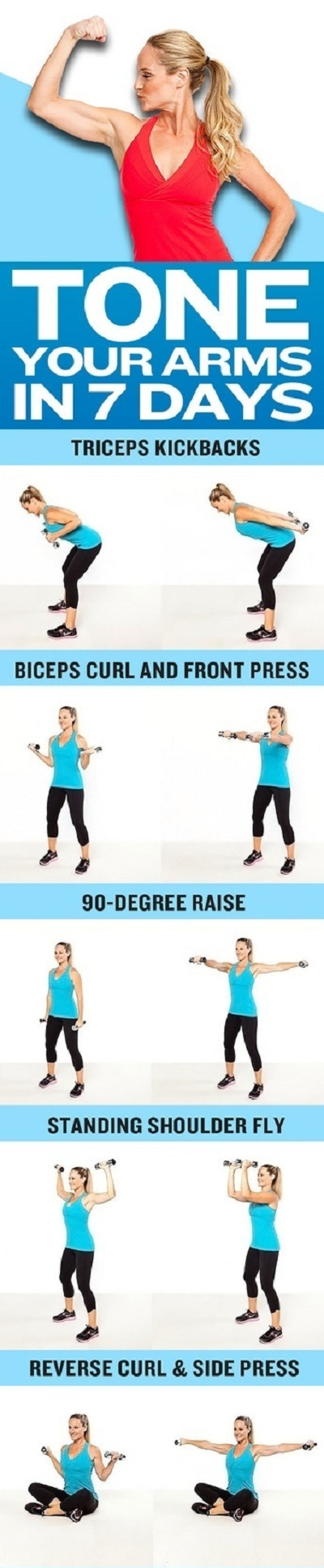 Tone up your arms in 7 days!