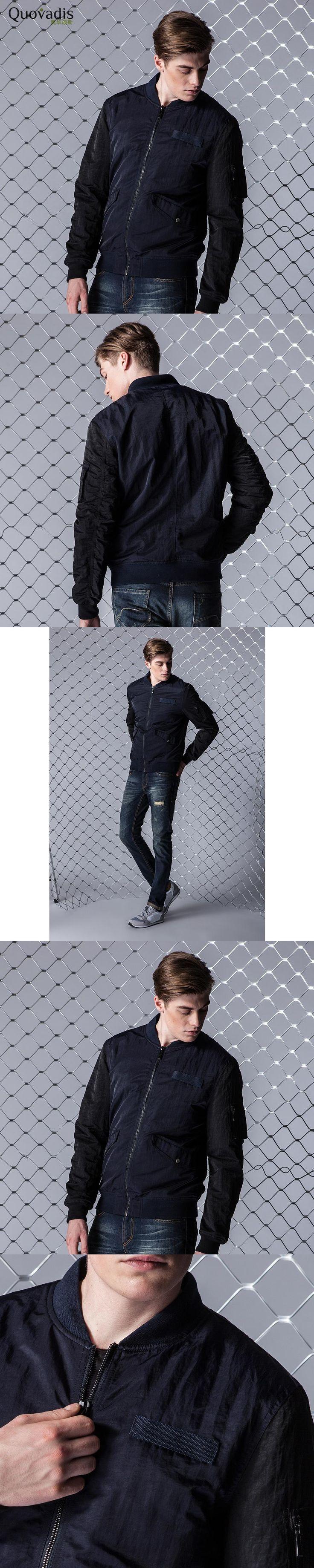 2017 Autumn casual Man Loose Coat fashion Korean bomber Jacket Handsome Joker Jacket oversize Zipper jaqueta masculino bape 8822