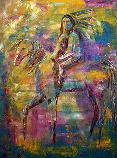 cherokee indian art | Wildlife Art of the West: June 2010
