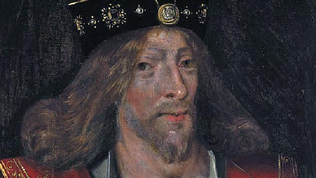 Search for lost tomb of King James I of Scotland. The King James of the King James Bible was James the 6th of Scotland and James the 1st of England.