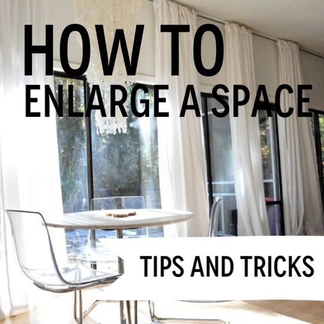 Progression By Design- How to Enlarge a Space