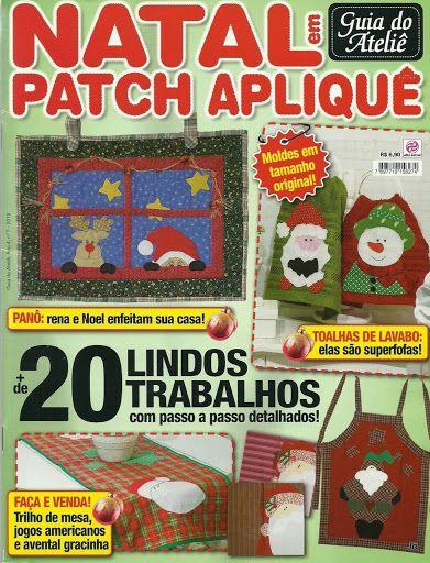patch Apliquê natal - Jozinha Patch - Álbumes web de Picasa