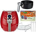 CooksEssentials 1500W Digital Air Fryer with Presets & Grill Rack - K43756 — QVC.com