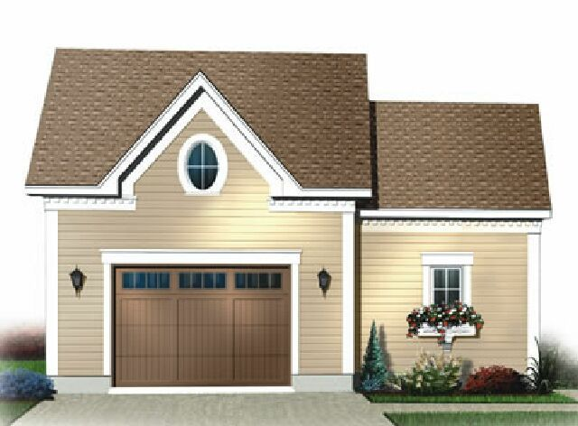 23 best images about add on garage on pinterest house for Small garage plans free