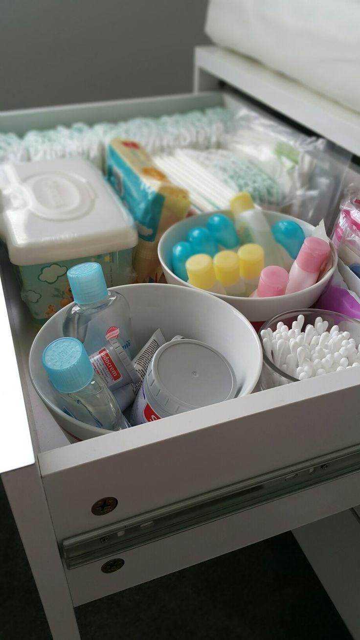 Change drawers