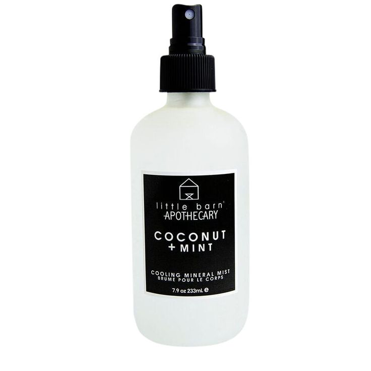 Little Barn Apothecary : Coconut + Mint Cooling Mineral Mist
