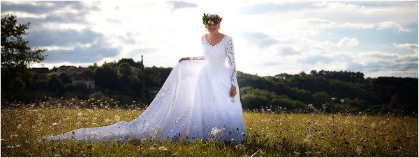 80s bride | Image by Lydia Taylor-Jones, read more http://www.frenchweddingstyle.com/80s-inspired-wedding-france/