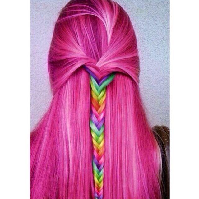 Crazy colours are so fun!