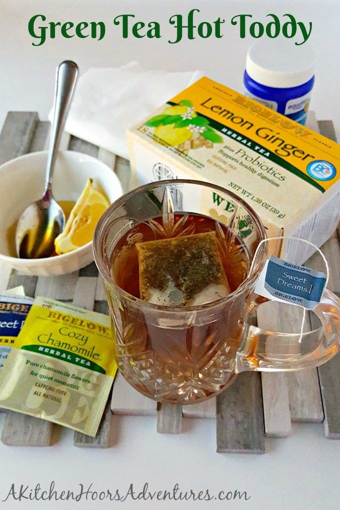 With this Green Tea Hot Toddy and my 6 steps, you'll be feeling better in no time! #TeaProudly #Sponsored #ad @bigelowtea