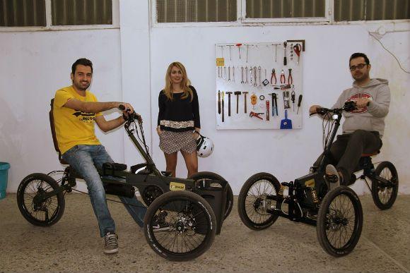 """Paastel trike: Ένα θεσσαλονικιωτικό start up πάνω σε τρεις ρόδες."" / της Αννας Χλιουρα / Parallaxi http://www.parallaximag.gr/parallax-view/paastel-trike-ena-thessalonikiotiko-startup-pano-se-3-rodes"