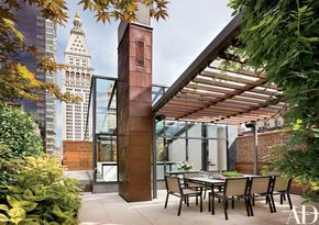 Violinist Joshua Bell's Sophisticated New York Penthouse Photos | Architectural Digest