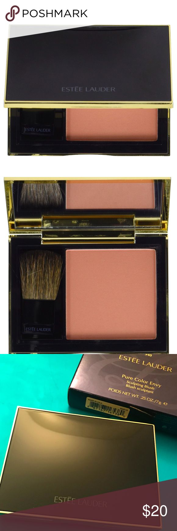 Pure Color Envy Sculpting Blush [New Full Size][Boutique] Estee Lauder Pure Color Envy Sculpting Blush [Shade: 340 Blushing Nude]. Sculpt. Define. Glow. Sweep on this ultra-silky, luxurious powder for enhanced definition and a healthy-looking glow. Brush included. Estee Lauder Makeup Blush