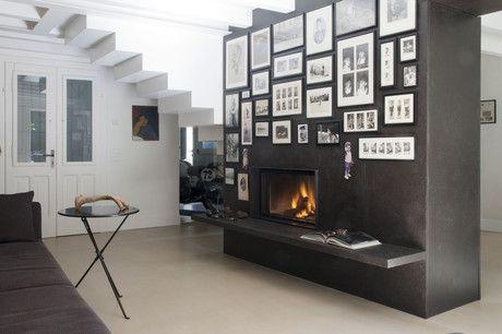 Projekt doppelseitigen Kamin mit Beschichtung Design | Your Fire MCZ