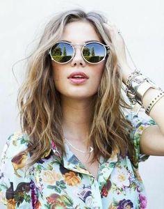 mid length hippie hair - Google Search