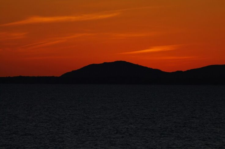Sunset from Shell Island Wales