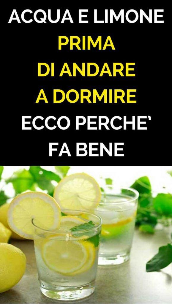 acqua limone e prezzemolo fa dimagrire