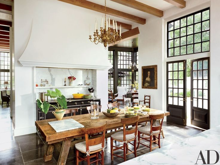 Architect Bobby McAlpine and interior designer Ray Booth collaborate on a Cape Dutch–inspired home in Baton Rouge, Louisiana | archdigest.com