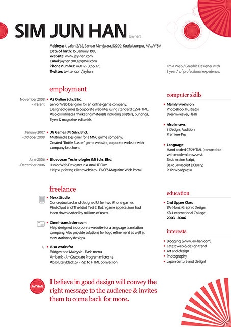 168 best Creative CV Inspiration images on Pinterest Cv design - different styles of resumes