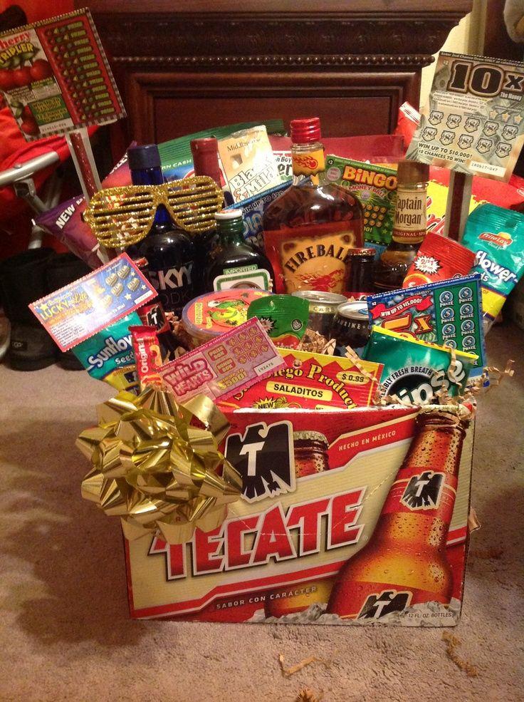 Valentine Gift Baskets for Him-Valentine Gift Baskets